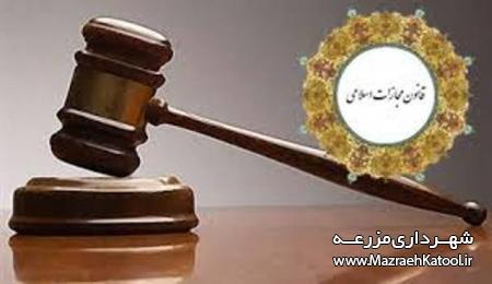 قانون 688 مجازات اسلامی