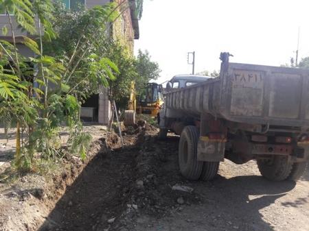 پروژه احداث کانیوو معابر شهر مزرعه کتول