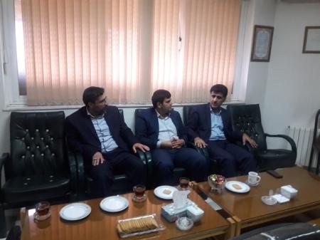 جلسه و دیدار با ریاست اداره برق شهرستان علی آباد کتول