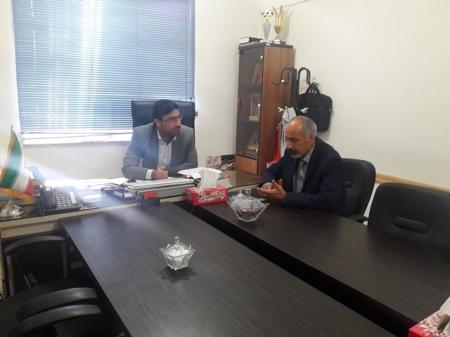 جلسه هم اندیشی و همفکری با آقای حاج اسماعیل دیلم